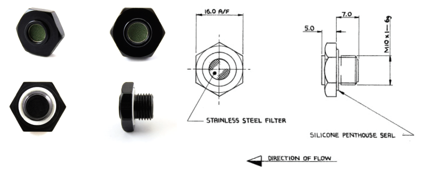 DH/D3588- Push Fit Outward Relief Valve